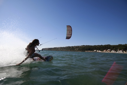 Girl Kitesurfing Photo :Genetrix / Zinou Guiri