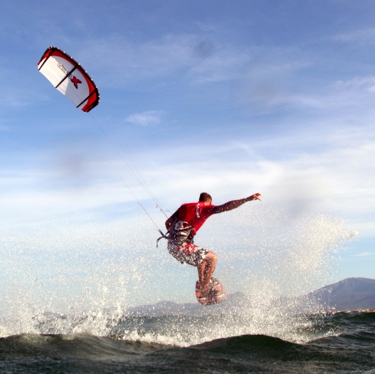 Kitesurf Laurent Mora