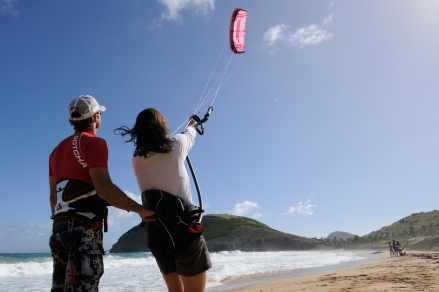 Kite coaching Laurent Mora