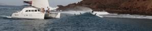 Catamaran Surfing
