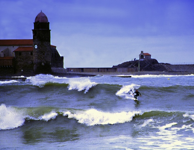 Surfing Collioure Laurent Mora CBCM Boarder Club