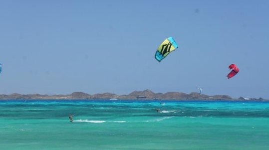 Fuerteventura kitesurf. corralejo