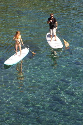 Stand Up Paddle avec Laurent Mora by CBCM Boarder Club