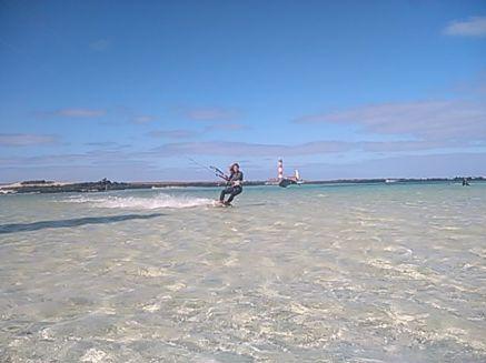 Kitesurf Lagoon Session