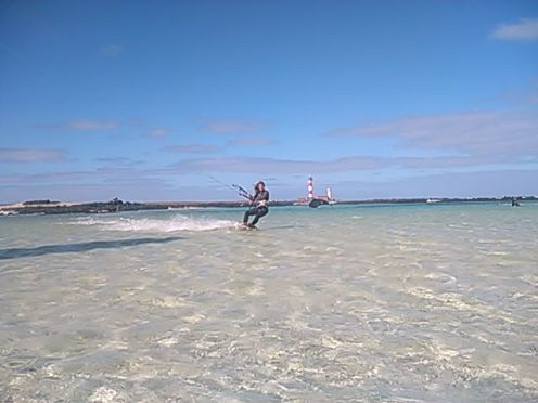 Kitesurf Lagoon Session