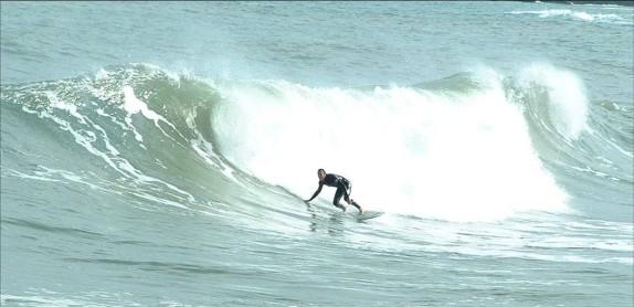 Surfing Laurent Mora Côte Vermeille P.O