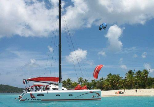 TS50 Catamaran kite-