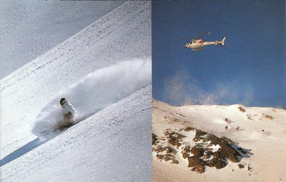 Heli-ski Andorra