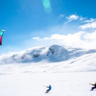 Snow kite