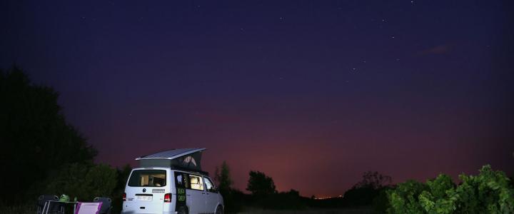 Camper van nightjpg