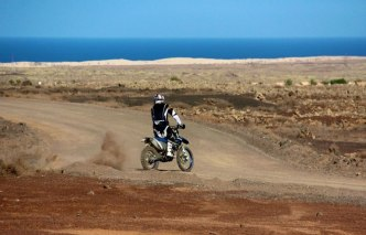 Moto cross Fuerteventura