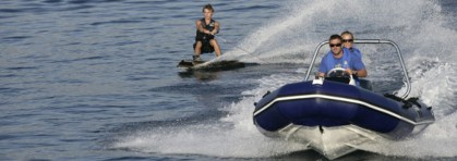 Kiteboard training