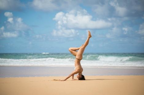 CBCM yoga-beach