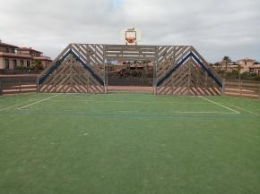 Basketball & Football court surf Camp Fuerteventura