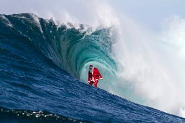 Papa noel Surf
