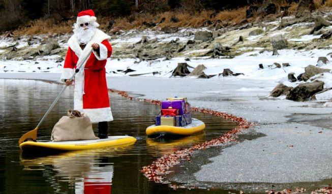 Pere Noel Stand up paddle