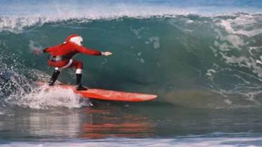 Pere Noel surf