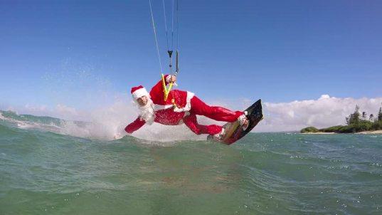 Santa Clauss Kite