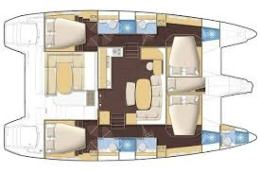 Catamaran-lagoon-421-plan