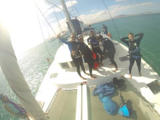Catamaran :Kitesurf school4