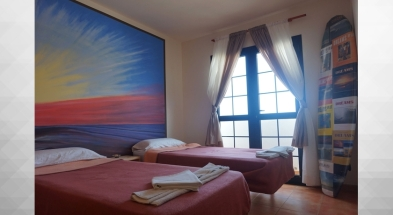 CBCM Surf hostal-Fuerteventura room twin-