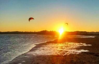 CBCM LAGOINHA BRESIL, Ecole de Kitesurf Sunset 2 kites