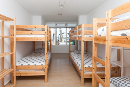 Bunk Bed 3 Sea view Yoga, Surf, Kitesurf, Stand up Paddle Fuerteventura