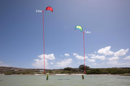 CBCM / Airush e-learn kite lines