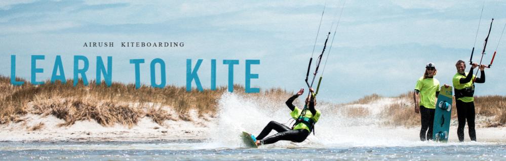 Airush e-learn kite