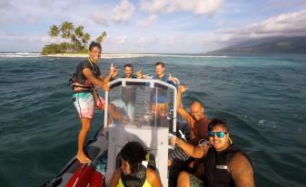 CBCM Kitesurf school Tahiti