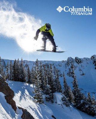 Columbia Sportswear snowboard